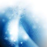 De achtergrond van de de kaartwinter van de Kerstmisgroet Stock Afbeeldingen
