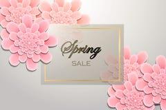 de achtergrond van de de lenteverkoop Stock Foto