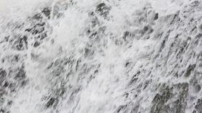 De achtergrond van de de lentewaterval stock videobeelden