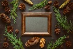 De achtergrond van de de wintervakantie Stock Afbeelding