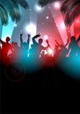 De Achtergrond van de de zomermuziek - Vector Stock Afbeeldingen