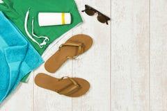 De achtergrond van de de zomervakantie Stock Afbeelding