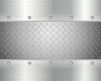 De achtergrond van de diamantplaat Stock Afbeelding