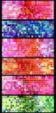 De achtergrond van de disco Royalty-vrije Stock Afbeeldingen