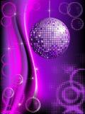 De achtergrond van de disco Stock Foto's