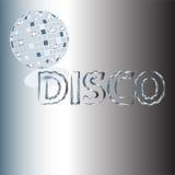 De achtergrond van de disco Stock Afbeelding
