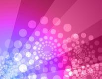De achtergrond van de disco - roze & viooltje Royalty-vrije Stock Afbeelding