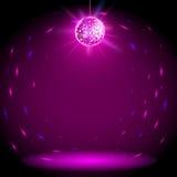 De achtergrond van de discobal Royalty-vrije Stock Afbeeldingen