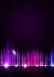 De Achtergrond van de discomuziek royalty-vrije illustratie