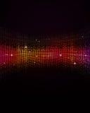De achtergrond van de disconacht stock illustratie