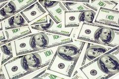 De achtergrond van de dollar Royalty-vrije Stock Foto