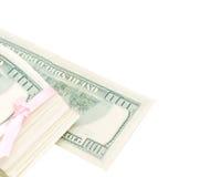 De achtergrond van de dollar Stock Afbeeldingen