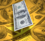 De achtergrond van de dollar Royalty-vrije Stock Afbeelding