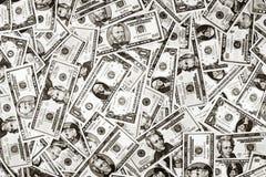 De Achtergrond van de Dollar van het Geld van de V.S. Stock Afbeelding