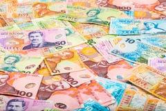 De achtergrond van de dollarsrekening Royalty-vrije Stock Afbeelding