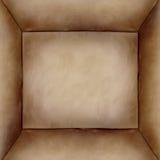 De achtergrond van de doos Royalty-vrije Stock Fotografie