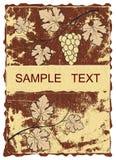 De achtergrond van de druif. Royalty-vrije Stock Afbeelding