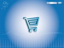 De achtergrond van de elektronische handel Royalty-vrije Stock Foto