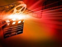 De achtergrond van de film. Royalty-vrije Stock Afbeelding