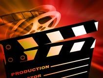 De achtergrond van de film. Royalty-vrije Stock Foto's