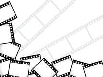 De achtergrond van de film Stock Afbeelding