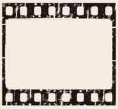 De achtergrond van de film Stock Afbeeldingen