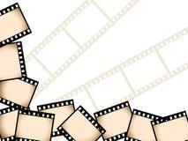 De achtergrond van de film Stock Fotografie
