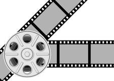 De achtergrond van de film Stock Foto's