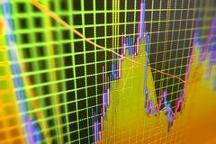 De achtergrond van de financiënbeurs Stock Afbeelding
