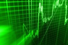 De achtergrond van de financiënbeurs Royalty-vrije Stock Fotografie
