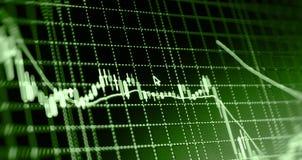 De achtergrond van de financiënbeurs Stock Fotografie
