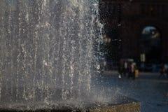 De Achtergrond van de fontein Stock Afbeeldingen