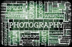 De Achtergrond van de fotografie royalty-vrije illustratie