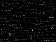 De achtergrond van de fysica Stock Afbeelding