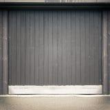 De achtergrond van de garagedeur Royalty-vrije Stock Foto's