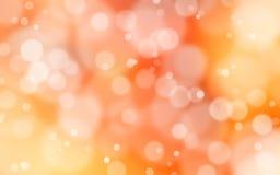 De Achtergrond van de gele en Rood lichtgloed Stock Afbeeldingen
