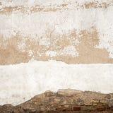 De achtergrond van de gipspleistermuur stock foto's