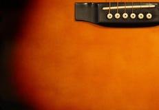 De achtergrond van de gitaar stock foto