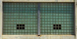 De Achtergrond van de glasbaksteen Royalty-vrije Stock Afbeelding