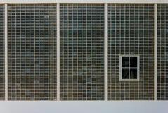 De Achtergrond van de glasbaksteen Stock Foto