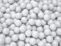 De achtergrond van de golfbal Het concept van de sport Royalty-vrije Stock Afbeelding