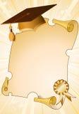 De achtergrond van de graduatie Royalty-vrije Stock Fotografie