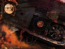 De achtergrond van de Grungeauto Royalty-vrije Stock Afbeelding