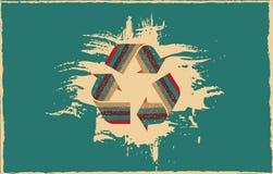 De achtergrond van de Grungeecologie Royalty-vrije Stock Foto