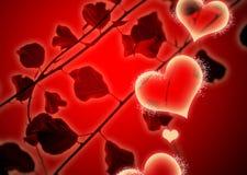 De Achtergrond van de hartstocht stock illustratie