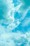 De achtergrond van de hemel Stock Afbeeldingen