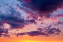 De achtergrond van de hemel Royalty-vrije Stock Foto's