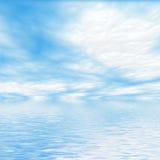 De achtergrond van de hemel Stock Foto's