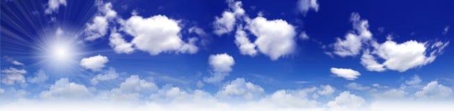 De achtergrond van de hemel royalty-vrije stock foto