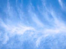 De achtergrond van de hemel met wolken. Royalty-vrije Stock Foto